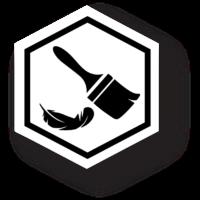 Phantium Finish Badge