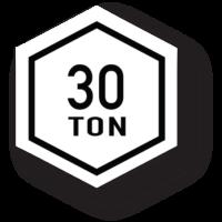 30 Ton Carbon Fiber